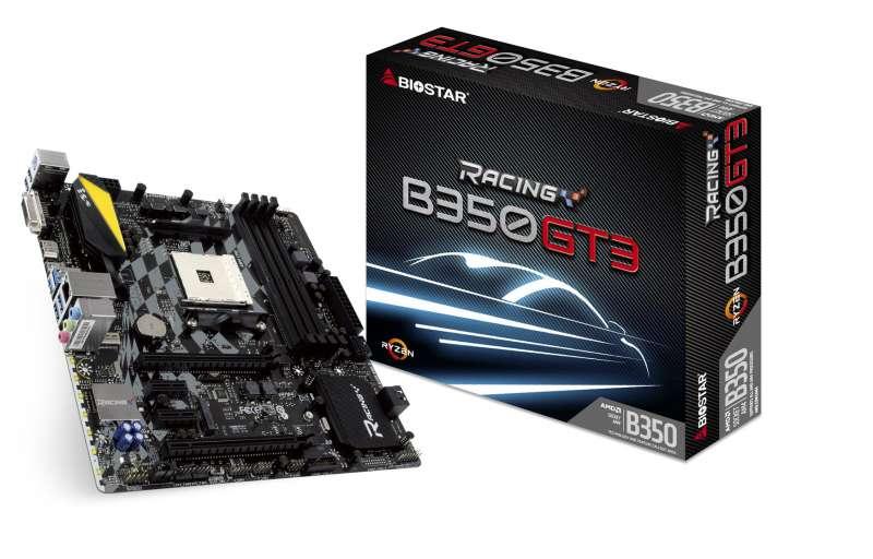 biostar b350gt3 motherboard image