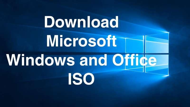 donwload microsoft windows office iso files