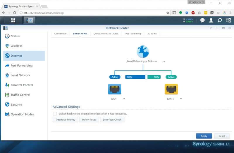 how setup dual wan synology router manager custom pc review 3