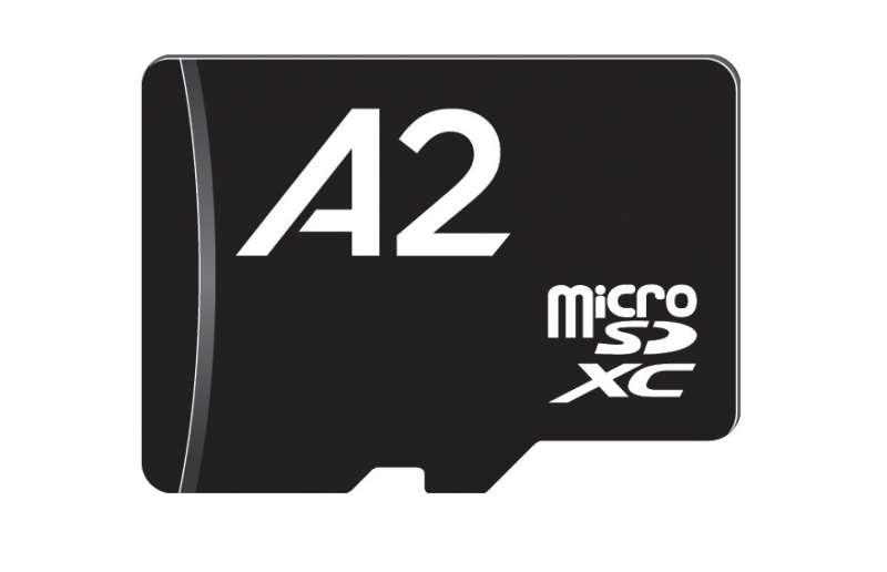sd association micro sdxc a2 card spec