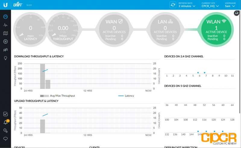 unifi controller ubiquiti unifi ap ac pro wifi access point custom pc review 04