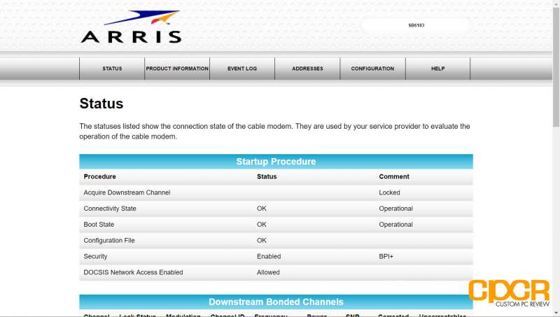 arris surfboard sb6183 cable modem custom pc review 05