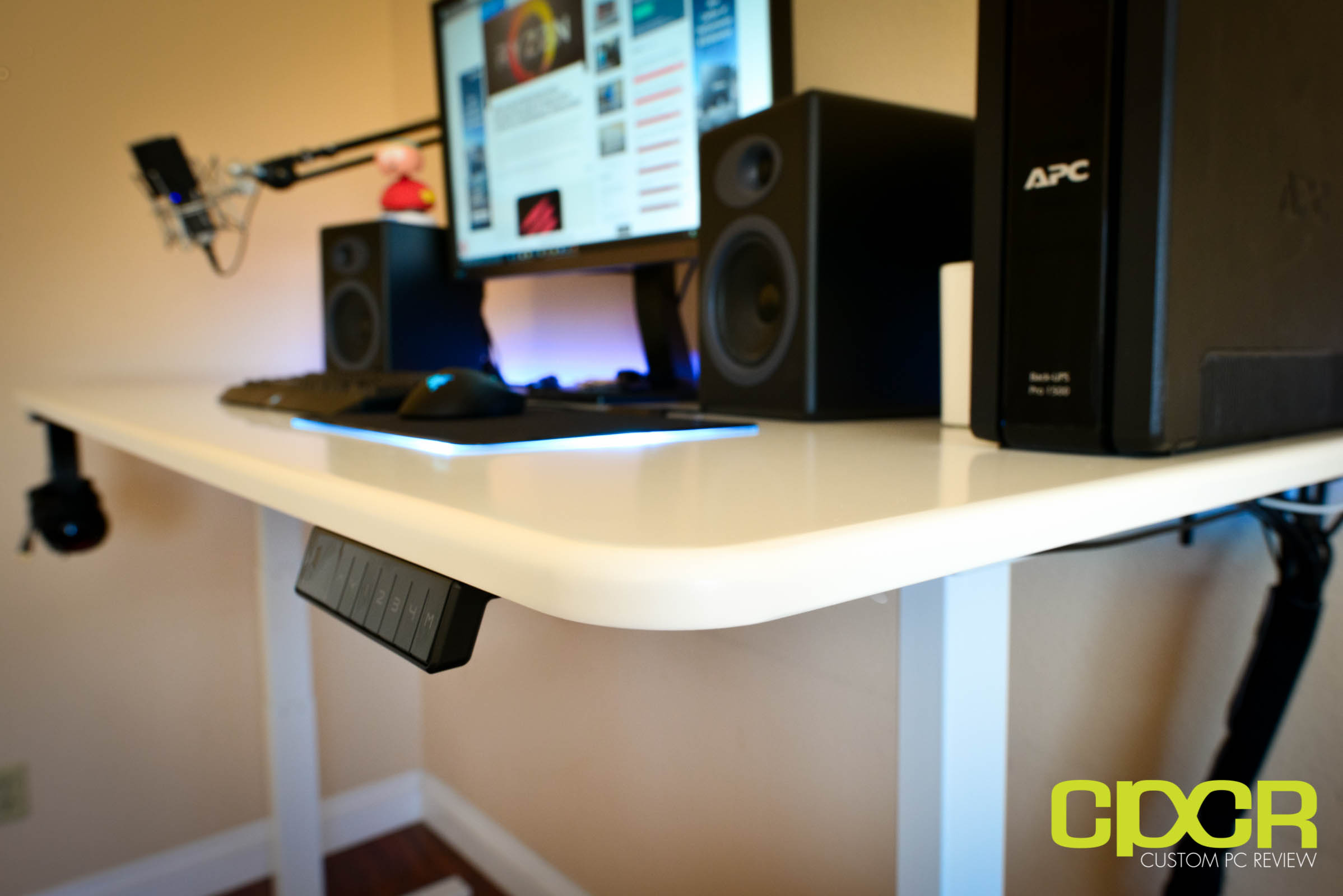 with stylish youtube desk ideas computer custom