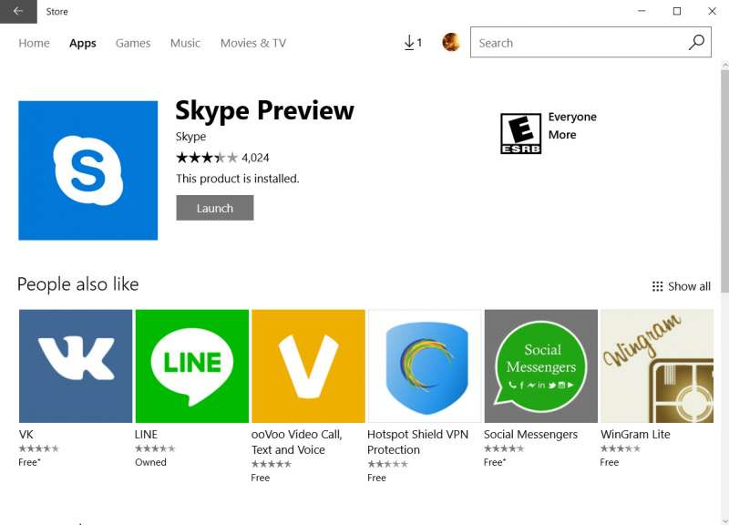how to uninstall skype preview app 07