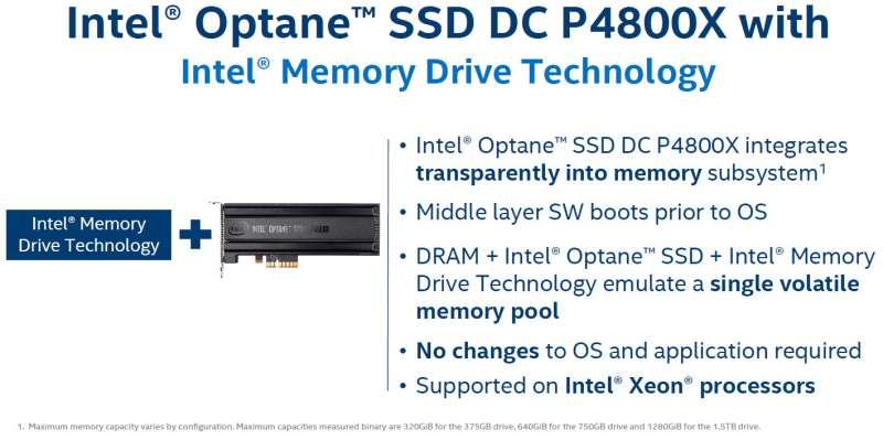 intel 3dxpoint optane ssd dc p4800x launch press deck01