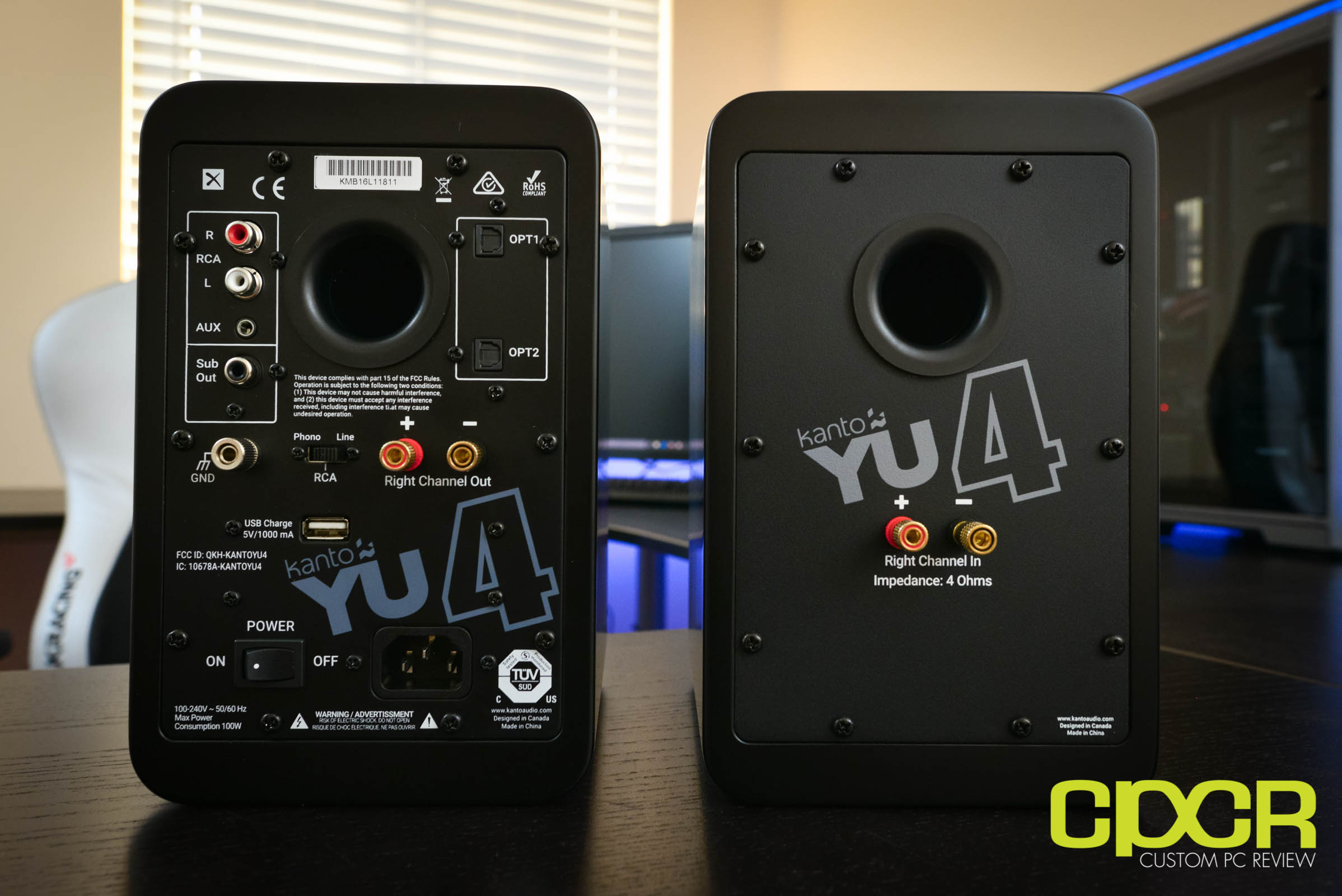 Kanto Yu4 Review Powered Speakers Custom Pc Review