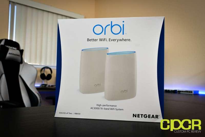 Netgear Orbi Review Mesh Wifi Router System Custom Pc