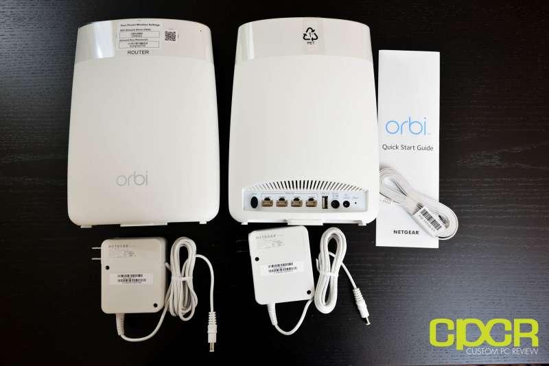 netgear orbi mesh wifi router system custom pc review 2