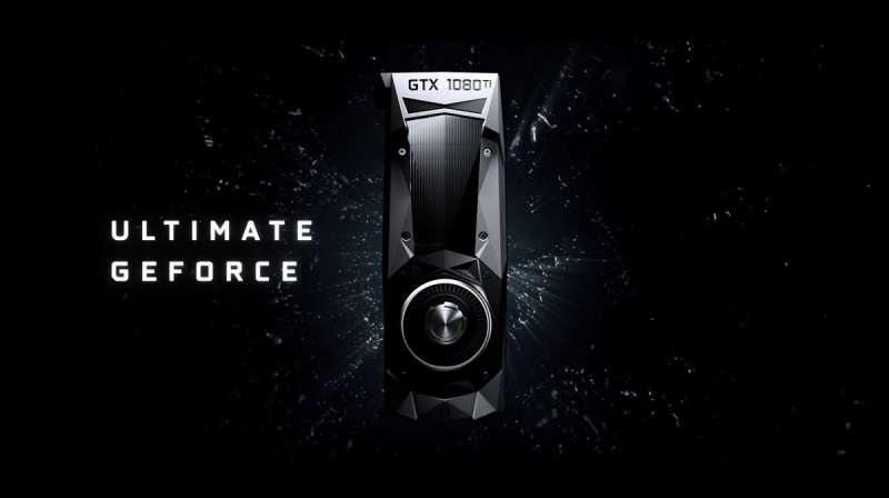 nvidia geforce gtx 1080ti launch video screen