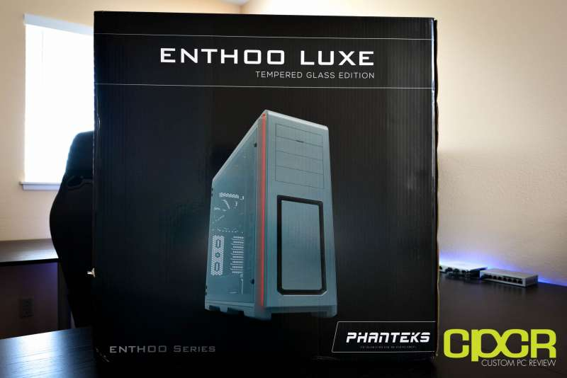 phanteks luxe tempered glass edition full tower pc case custom pc review 1
