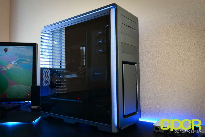 phanteks luxe tempered glass edition full tower pc case custom pc review 26