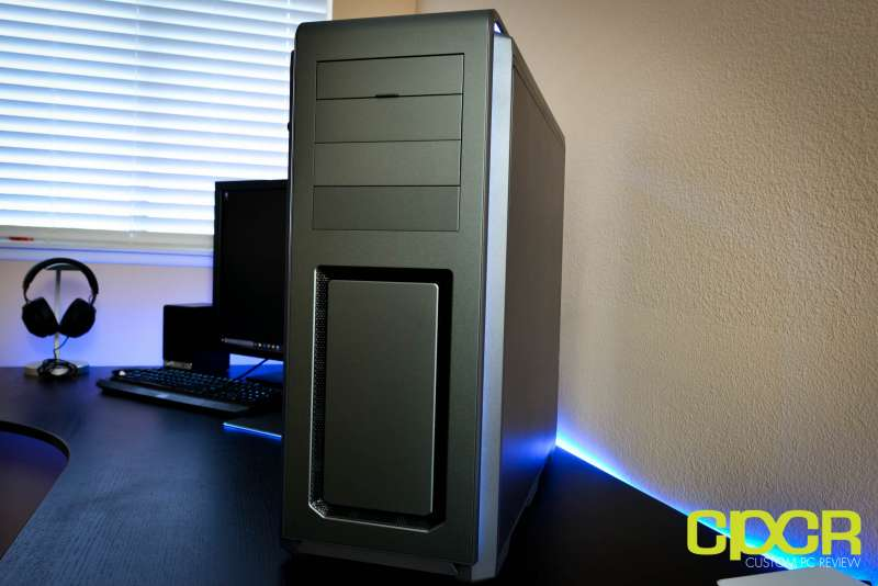 phanteks luxe tempered glass edition full tower pc case custom pc review 35