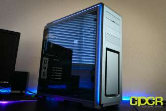 phanteks luxe tempered glass edition full tower pc case custom pc review 36