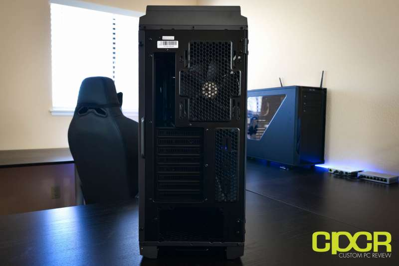phanteks luxe tempered glass edition full tower pc case custom pc review 6
