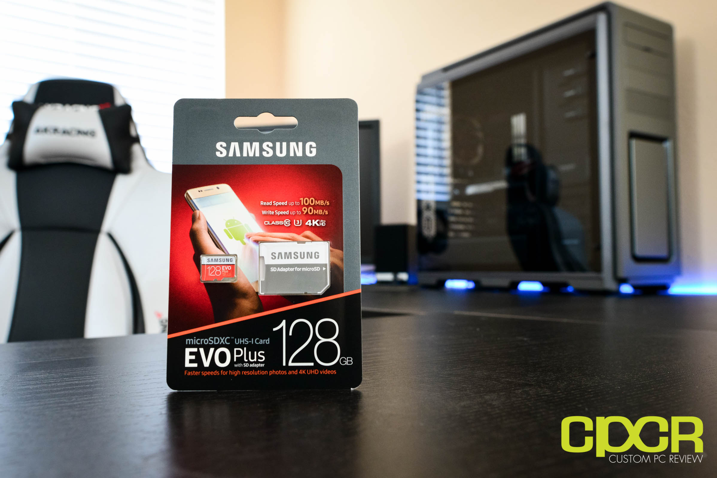 samsung 128gb evo plus. several years ago, samsung made their first introduction into the branded memory card space with evo and pro lineup of cards quickly 128gb evo plus g