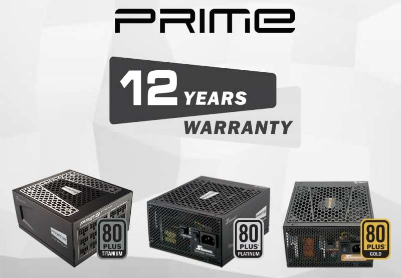 seasonic prime 12 year warranty