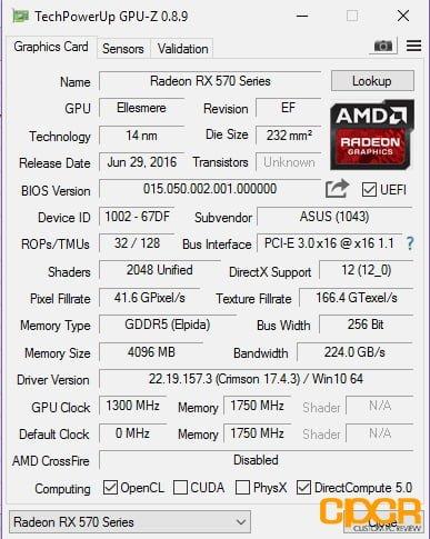 asus strix rx570 inital boot custompcreview