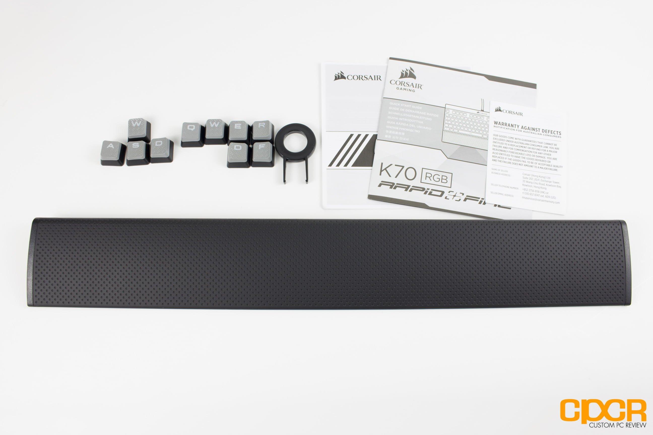 Corsair Gaming K70 RGB RAPIDFIRE Review | Gaming Mechanical