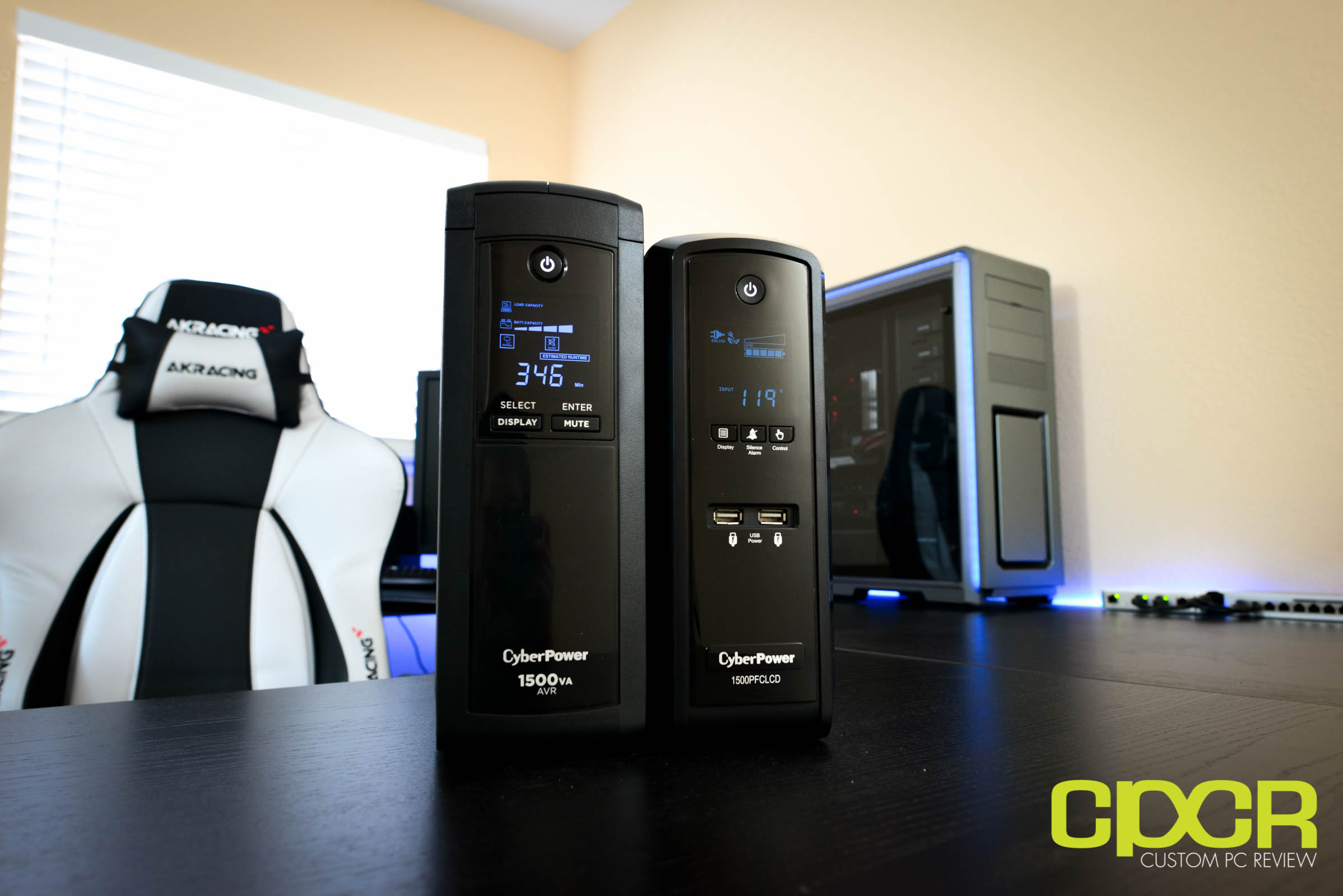 CyberPower CP1500AVRLCD, CP1500PFCLCD Review | UPS | Custom PC Review