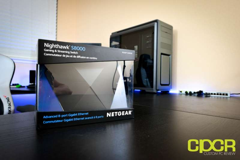 netgear nighthawk s8000 gaming media switch 1