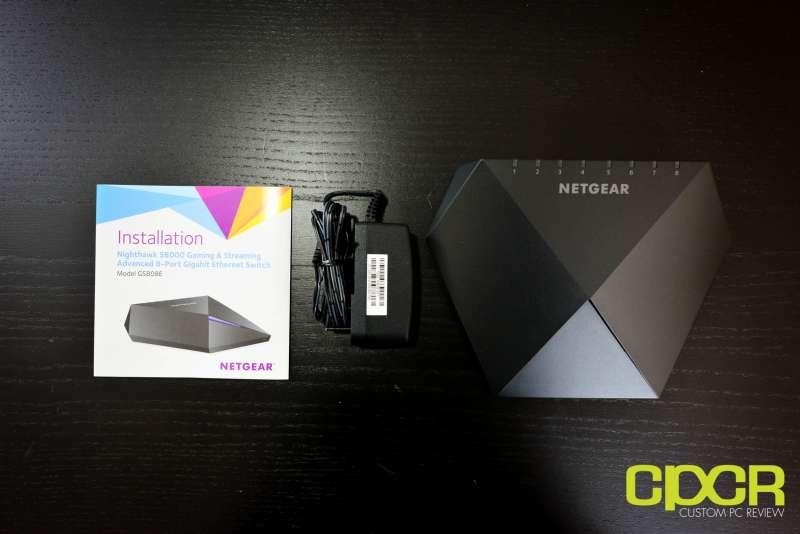netgear nighthawk s8000 gaming media switch 2