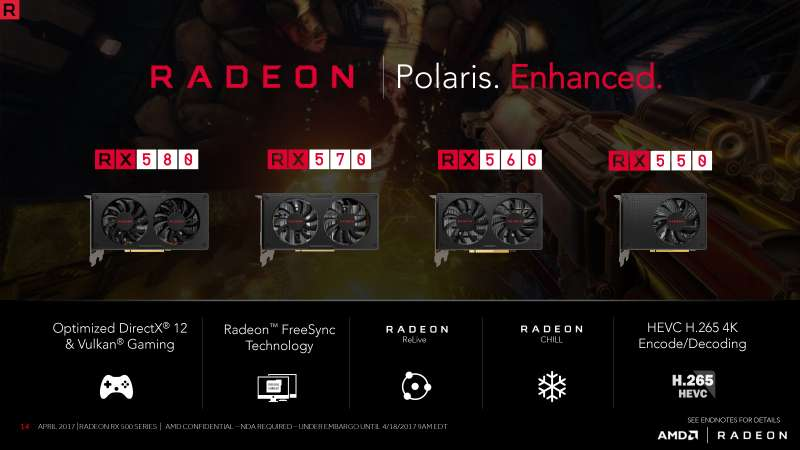 radeon rx 500 series lineup custompcreview