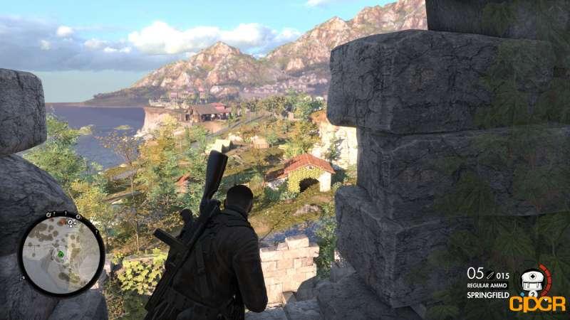 sniper elite 4 benchmark screen custompcreview