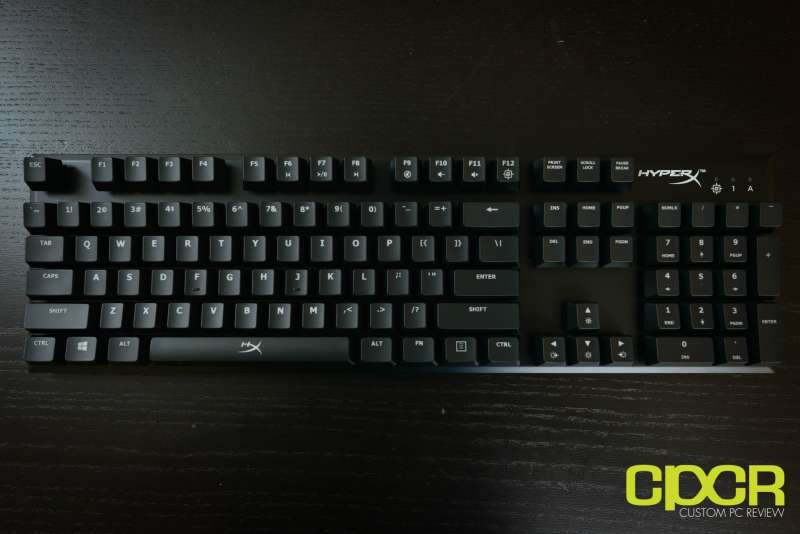 hyperx alloy fps mechanical gaming keyboard 2650