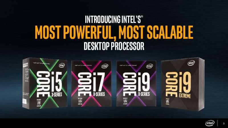 intel core x series processor slide deck Page 03