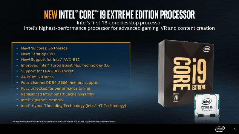 intel core x series processor slide deck Page 06