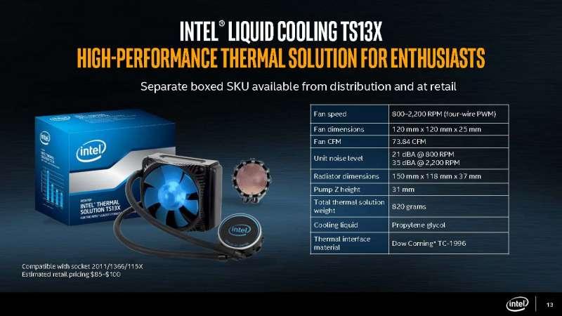 intel core x series processor slide deck Page 13