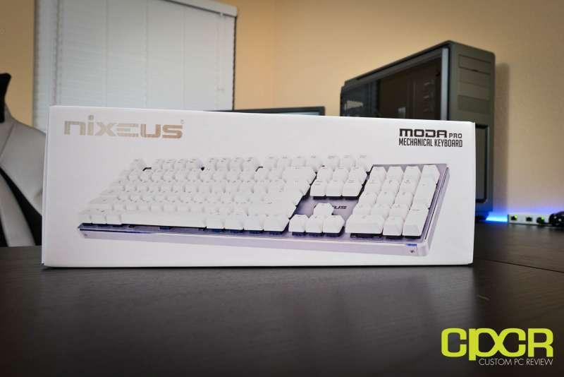 nixeus moda pro mechanical keyboard 2673