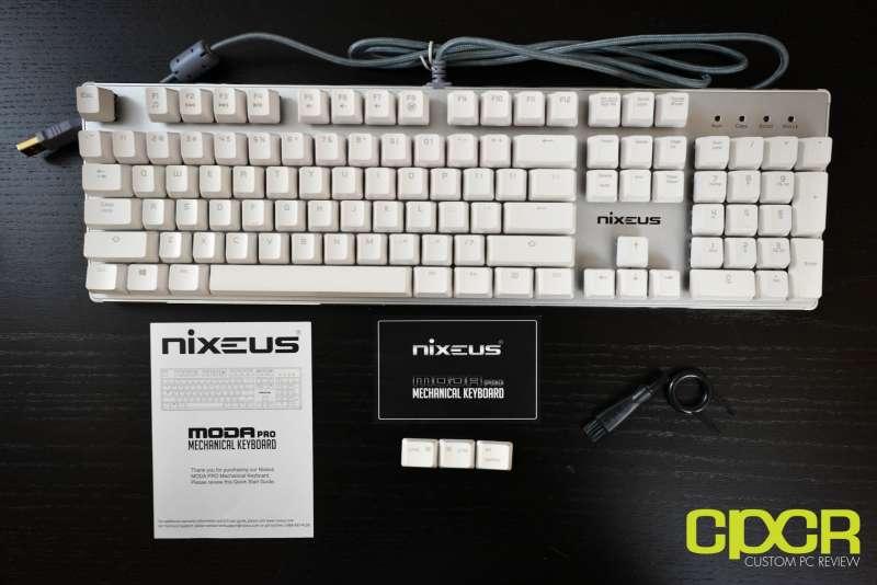nixeus moda pro mechanical keyboard 2674