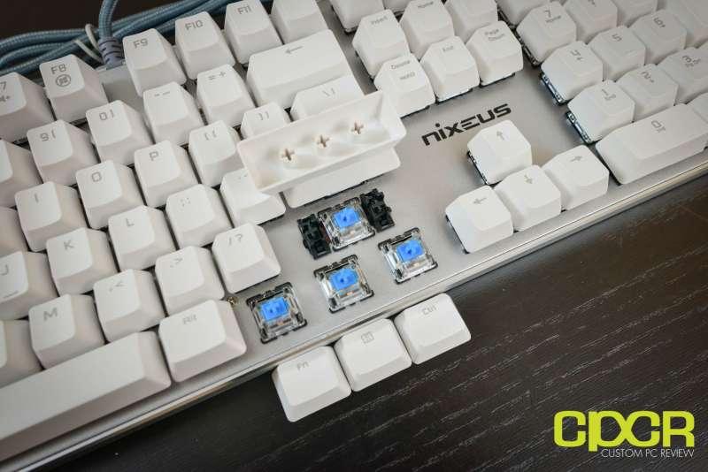 nixeus moda pro mechanical keyboard 2676
