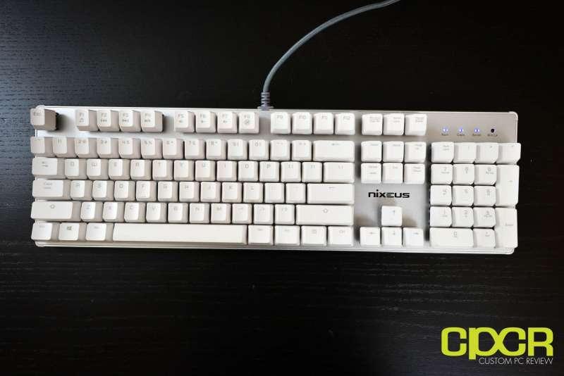 nixeus moda pro mechanical keyboard 2677