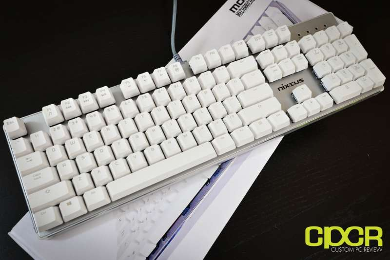 nixeus moda pro mechanical keyboard 2687