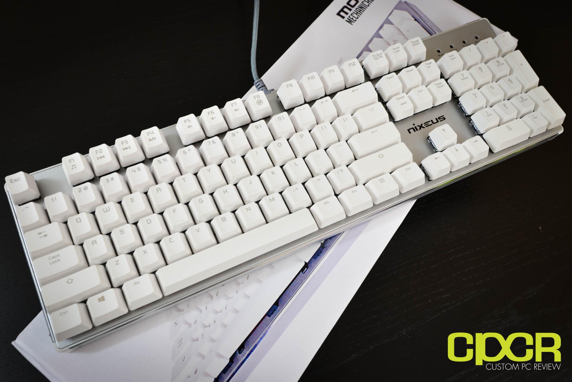 Review: Nixeus Moda Pro Mechanical Keyboard - Custom PC Review