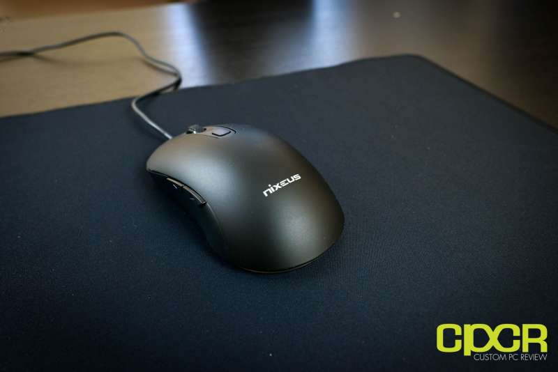 nixeus revel gaming mouse pmw 3360 2703