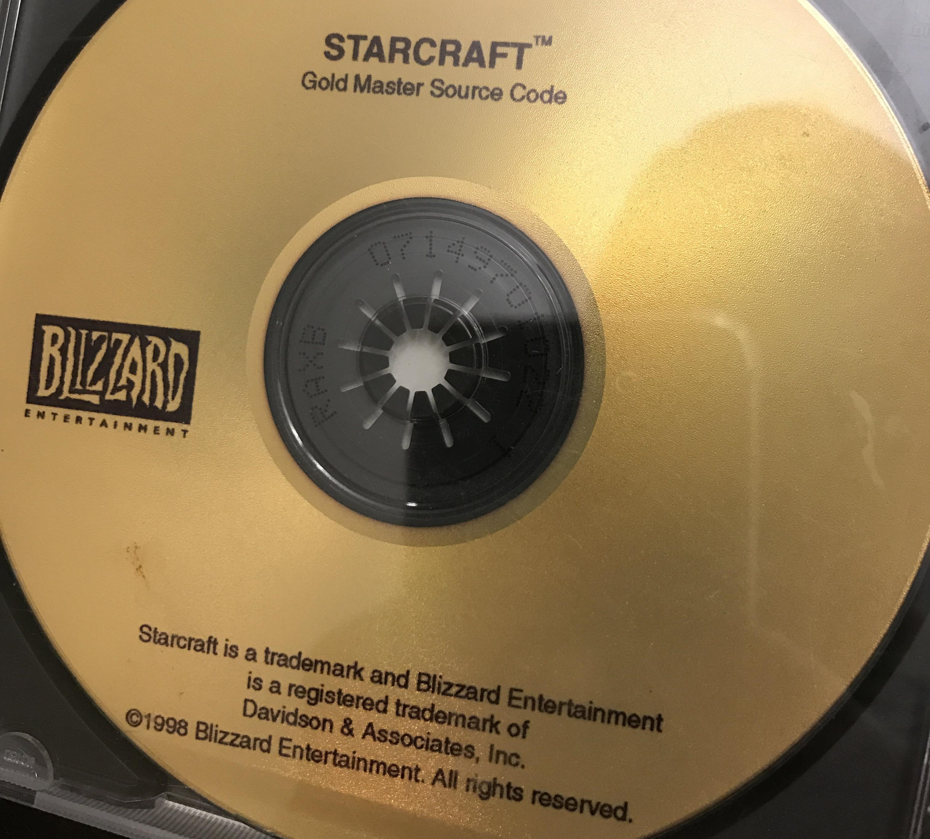 Reddit User Returns Starcraft Gold Master Source Disk To Blizzard Gets A Ton Of Goodies And Trip To Blizzcon Custom Pc Review