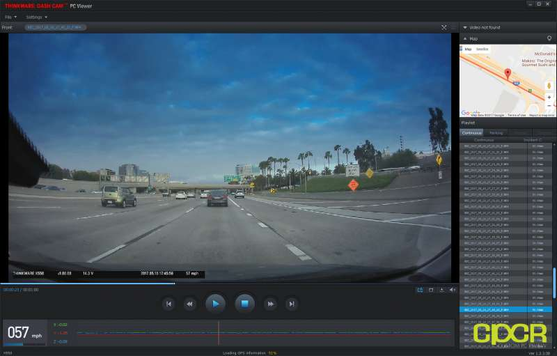software thinkware x550 dashcam 06