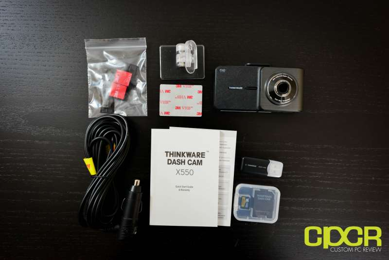 thinkware x550 dashcam 2566