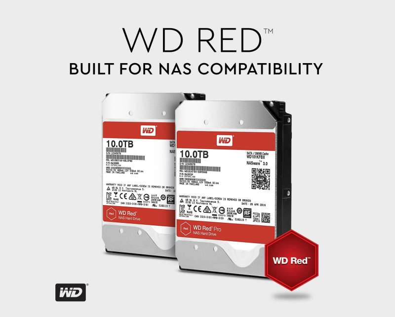 wd red 10tb nas hdd