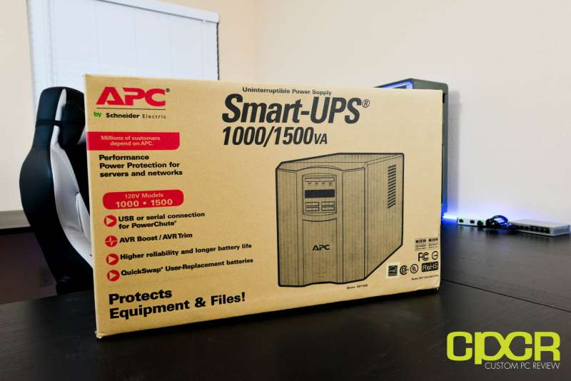 apc smart ups 1500 smt1500 custom pc review 2661