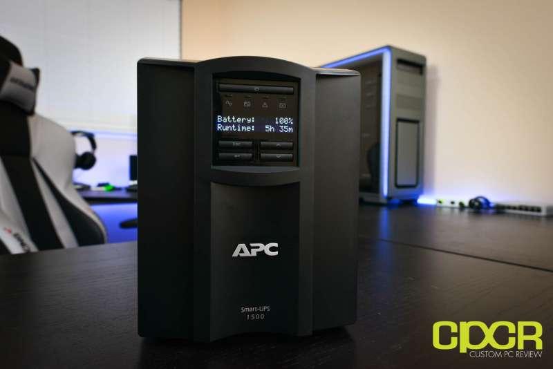 apc smart ups 1500 smt1500 custom pc review 2668