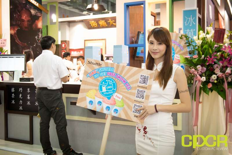 computex booth babes 2017 custom pc review 3