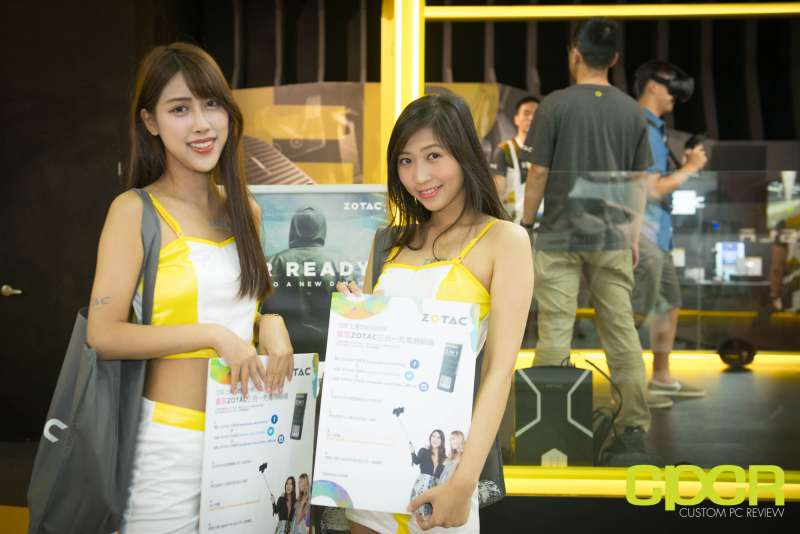 computex booth babes 2017 custom pc review 4