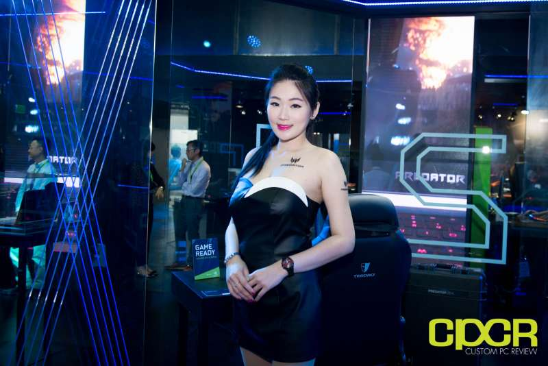 computex booth babes 2017 custom pc review 7
