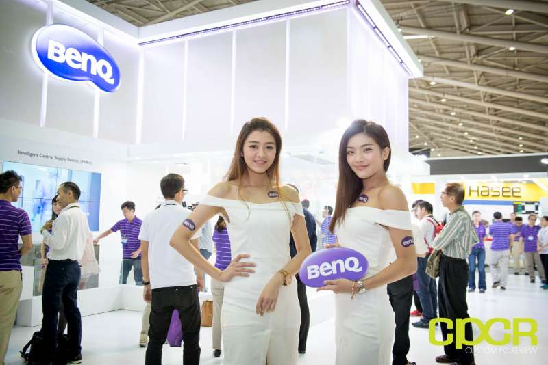 computex booth babes 2017 custom pc review 8