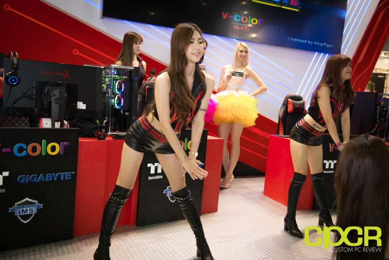 computex booth babes 2017 custom pc review 9621