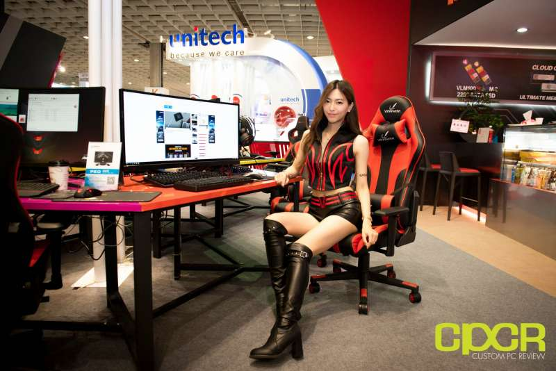 computex booth babes 2017 custom pc review 9629